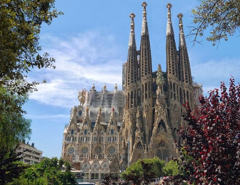 Barcelona Catedral Sagrada Familia