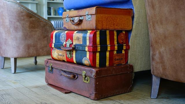 maletas de vacaciones